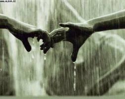 lágrimas y manos